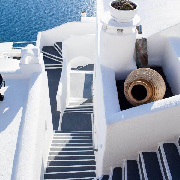 Flitterwochen in Santorini, Paarfotos